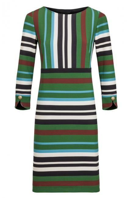 Ana Alcazar Striped Dress Kimberly