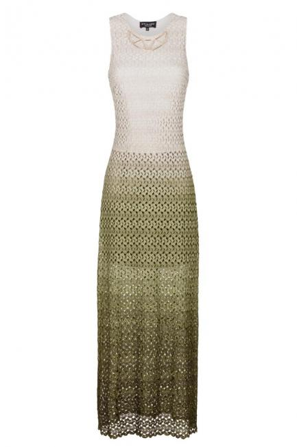 Ana Alcazar Maxi Dress Green Famonery