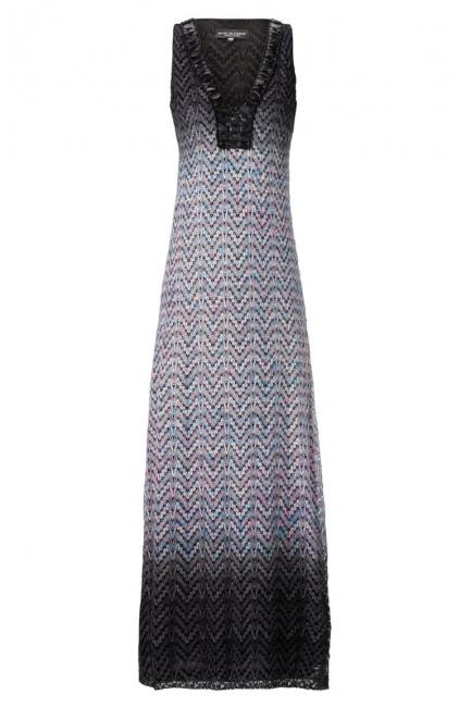 ana alcazar Knitted Maxi Dress Ademolesty