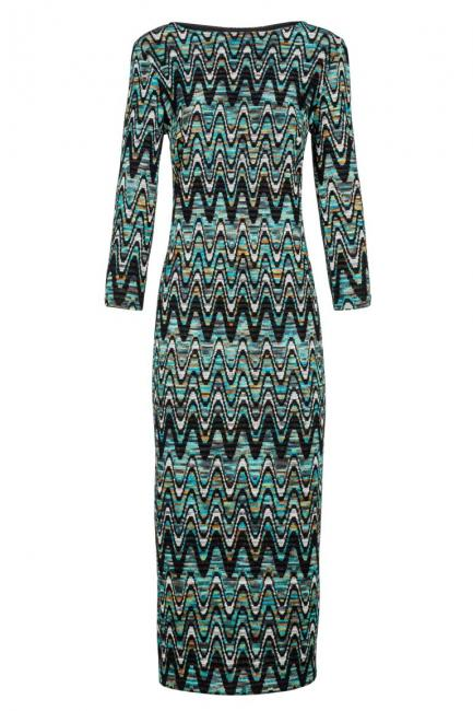 Ana Alcazar Long Knitted Dress Doranges