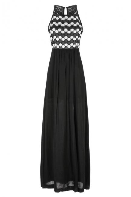 Ana Alcazar Maxi Lace Dress Gisbelle
