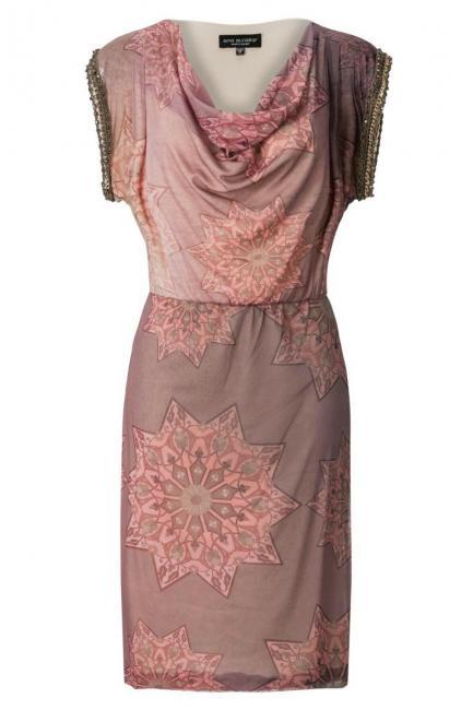 ana alcazar Wasserfall Kleid Astonea