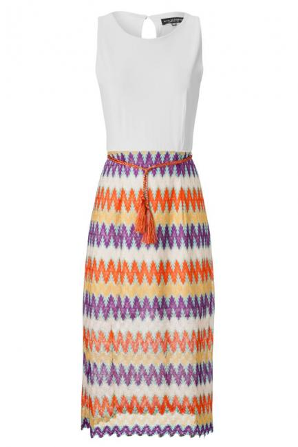 ana alcazar Summer Midi Dress Ayora