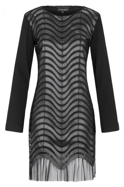 Ana Alcazar Leather Optic Dress Kewave