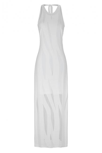 Ana Alcazar Maxi Dress White Faleara