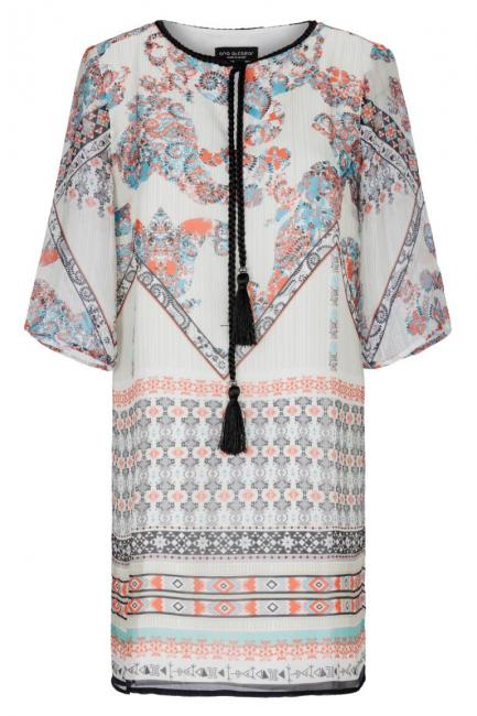 Ana Alcazar Limited Silk Tunic Dress Glimmy