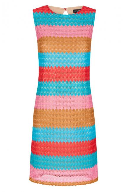Ana Alcazar Crochet A-Shaped Dress Fernanday