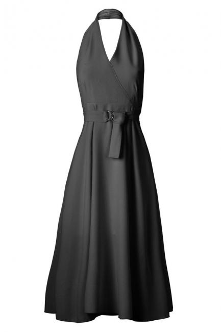 ana alcazar Fifties Dress Ansophy Black