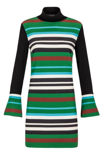 Ana Alcazar Striped Dress Kimberlis