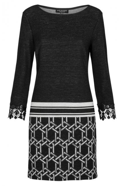 Ana Alcazar Tunic Dress Kileysa Black
