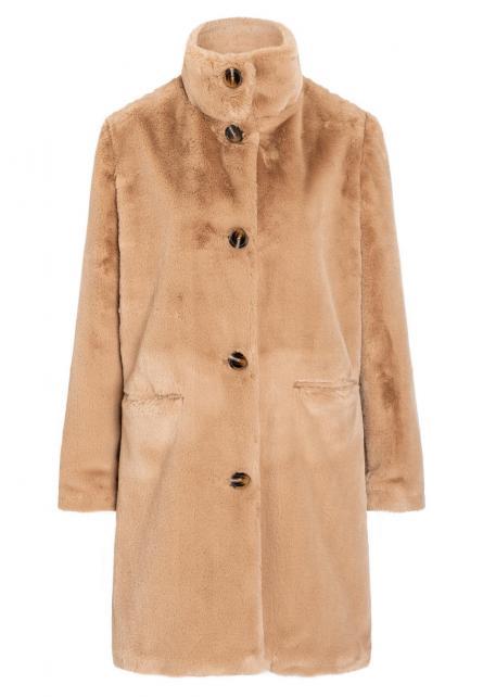 Fake Fur Coat Bacis
