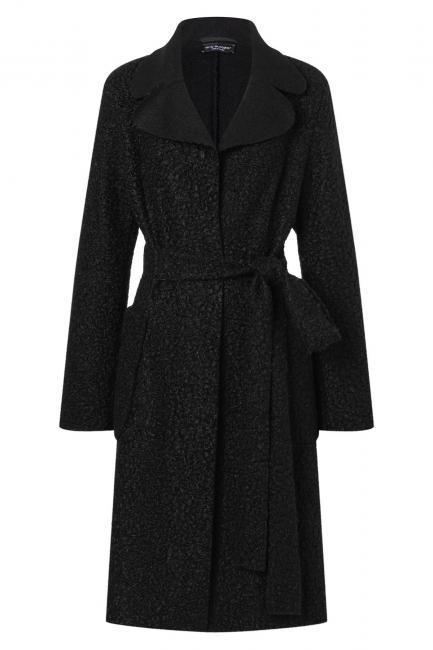 Ana Alcazar Midi Coat Vababy Black