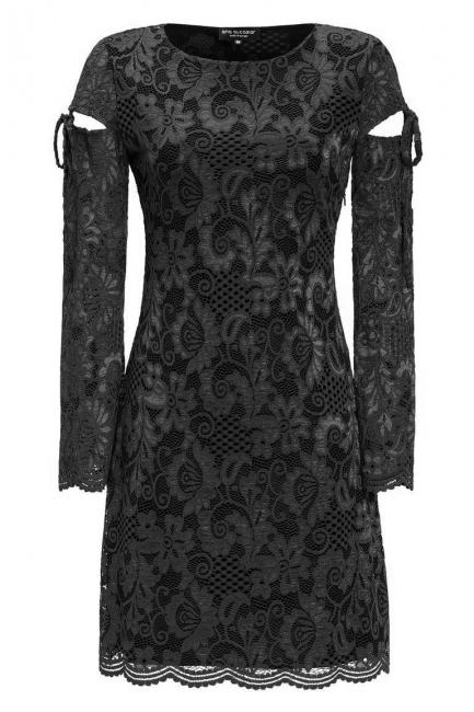 Ana Alcazar Lace Cocktail Dress Leybelle