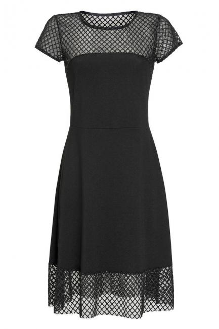Ana Alcazar Cocktail Dress Limony