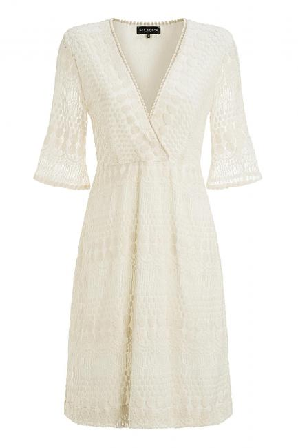Ana Alcazar Crochet Dress Malishy