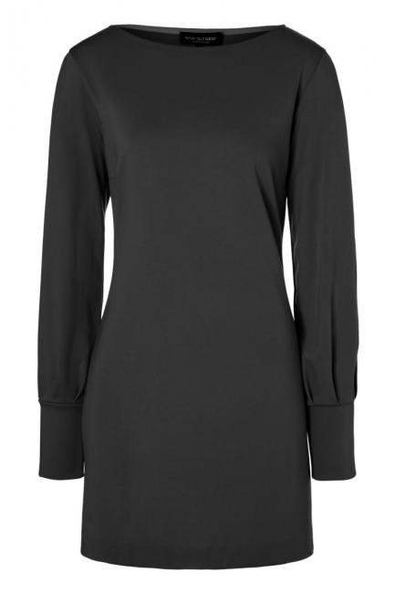 Ana Alcazar Sleeved Dress Olisuda Black
