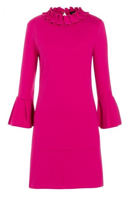 Ana Alcazar Volant Dress Opali Pink