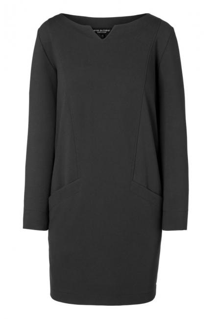Ana Alcazar Pocket Dress Ozora Black