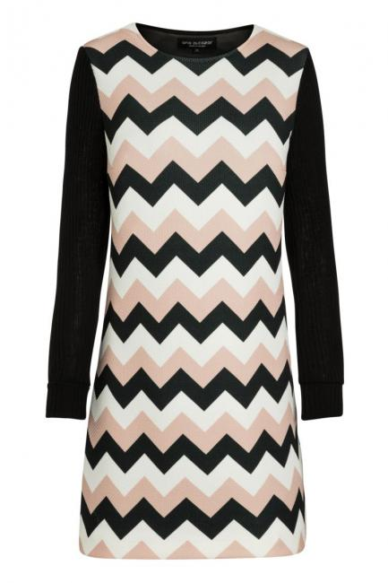 Ana Alcazar A-Shaped Dress Pashya Black