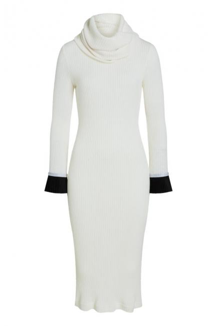 Ana Alcazar Midi Dress Poniky White