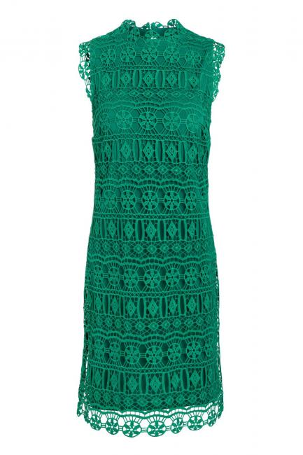 Ana Alcazar Lace Dress Saimea Green