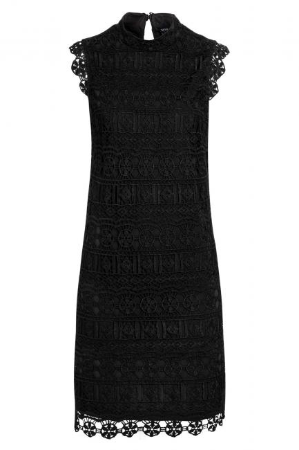 Ana Alcazar Lace Dress Saime Black