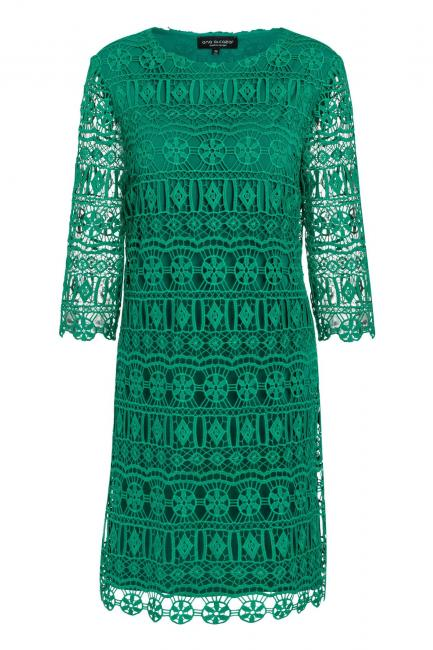 Ana Alcazar A-Shaped Dress Saida Green