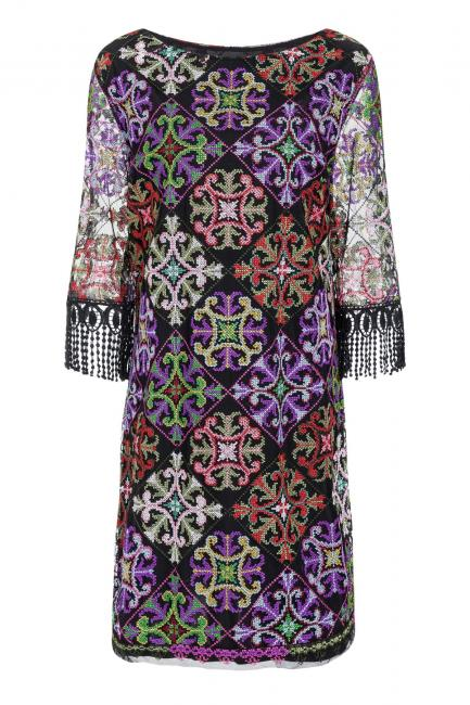 Ana Alcazar Fringe Dress Salnome