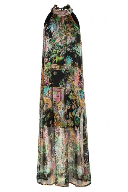 Ana Alcazar Maxi Dress Sekina Black