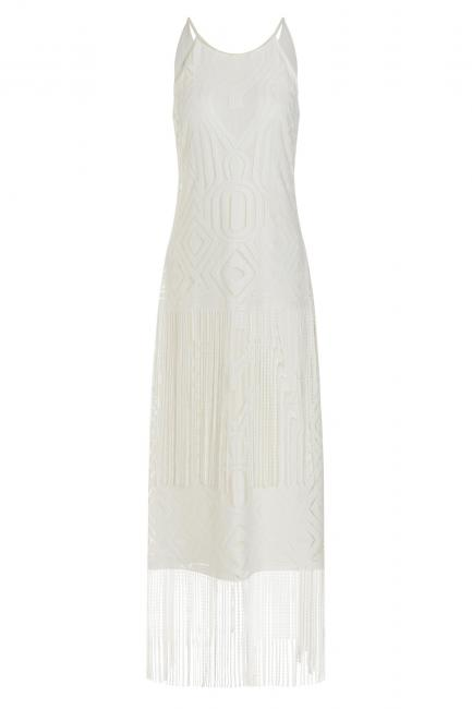 Ana Alcazar Fringe Dress Tahly
