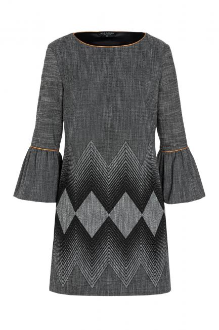 Ana Alcazar Tweed Dress Vabatine