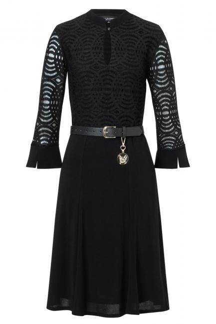 Ana Alcazar Mix Dress Vabela Black