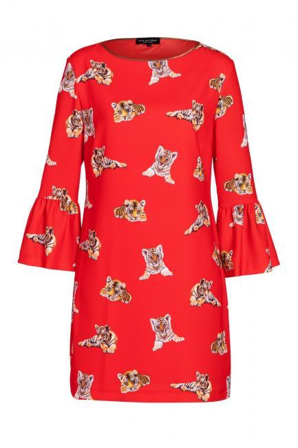Ana Alcazar Tiger Kleid Vabere