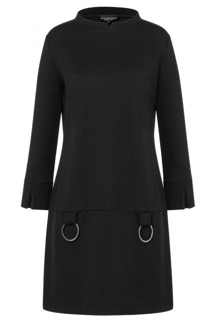Ana Alcazar A-Shaped Dress Vadunis Black
