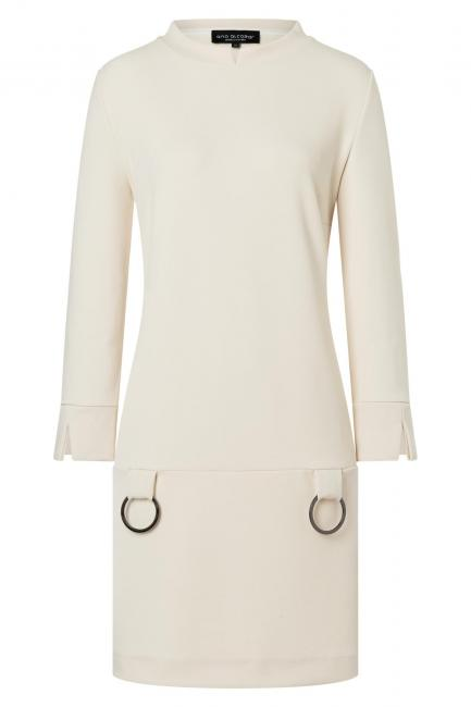 Ana Alcazar A-Shaped Dress Vadunje Offwhite