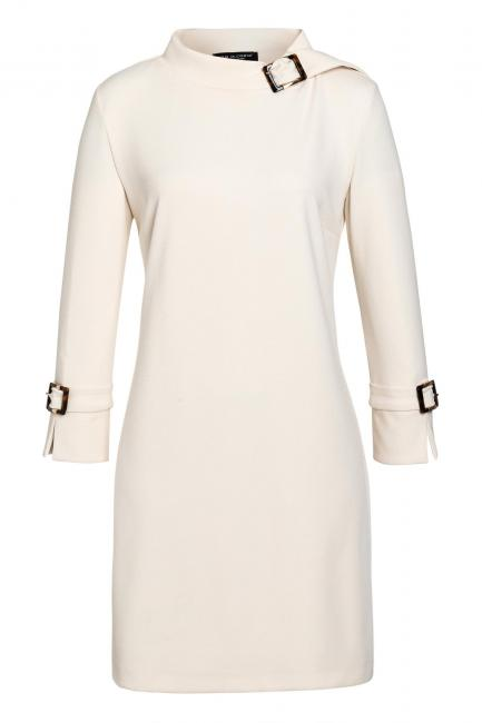 Ana Alcazar Sixties Dress Vaduba White