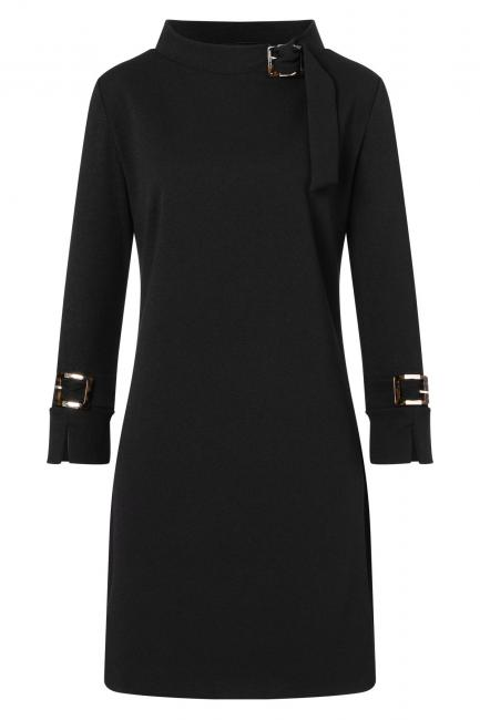Ana Alcazar Sixties Dress Vadubi Black