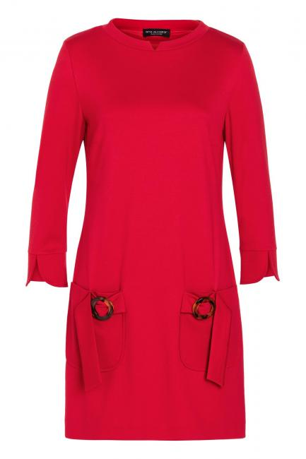 Ana Alcazar Sixties Dress Vafancy Red