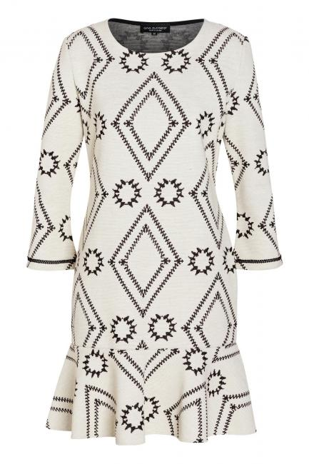 Ana Alcazar Volant Dress Vafomis White