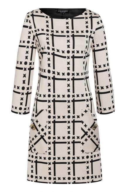 Ana Alcazar Pocket Dress Vafusea White