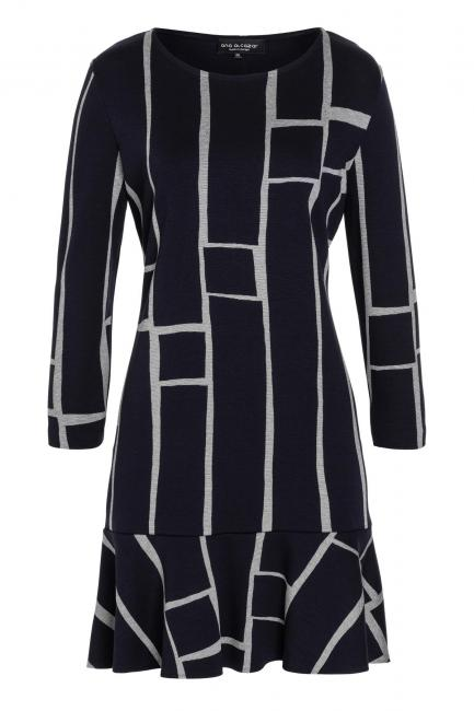 Ana Alcazar Volant Dress Vimole Black
