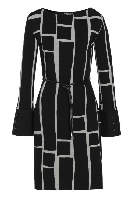 Ana Alcazar Cuff Dress Vimty Black