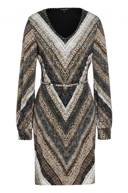 Ana Alcazar Long Sleeve Dress Vostasy