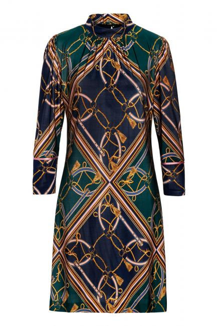 Ana Alcazar Stand Up Collar Dress Volmyre