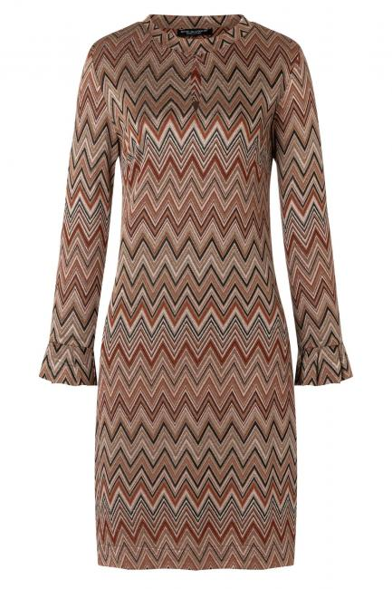 Ana Alcazar Tunic Dress Vubosa Brown