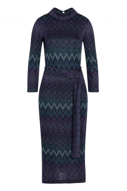 Ana Alcazar Midi Dress Vurinty Blue