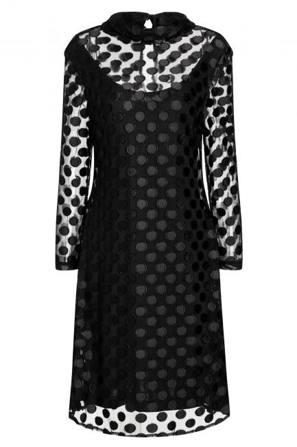 Ana Alcazar Polka Dot Dress Wavra