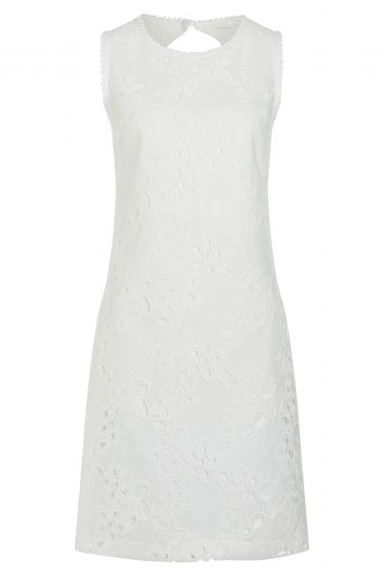 Ana Alcazar Ausschnitt Kleid Zedyl