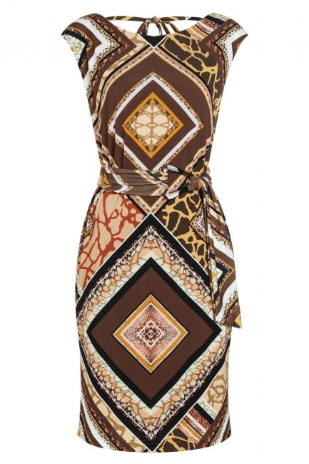Ana Alcazar Belt Dress Zinos