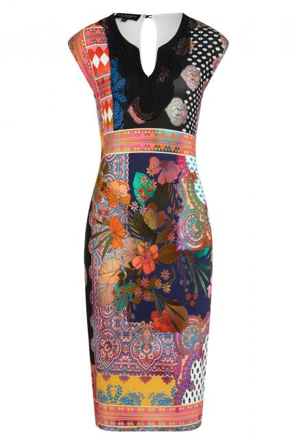 Ana Alcazar Deco Dress Ziome